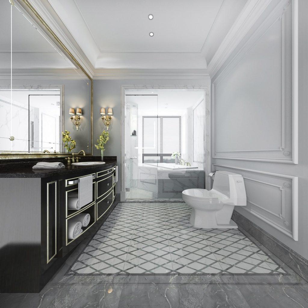 Luxurious Bathroom Complete