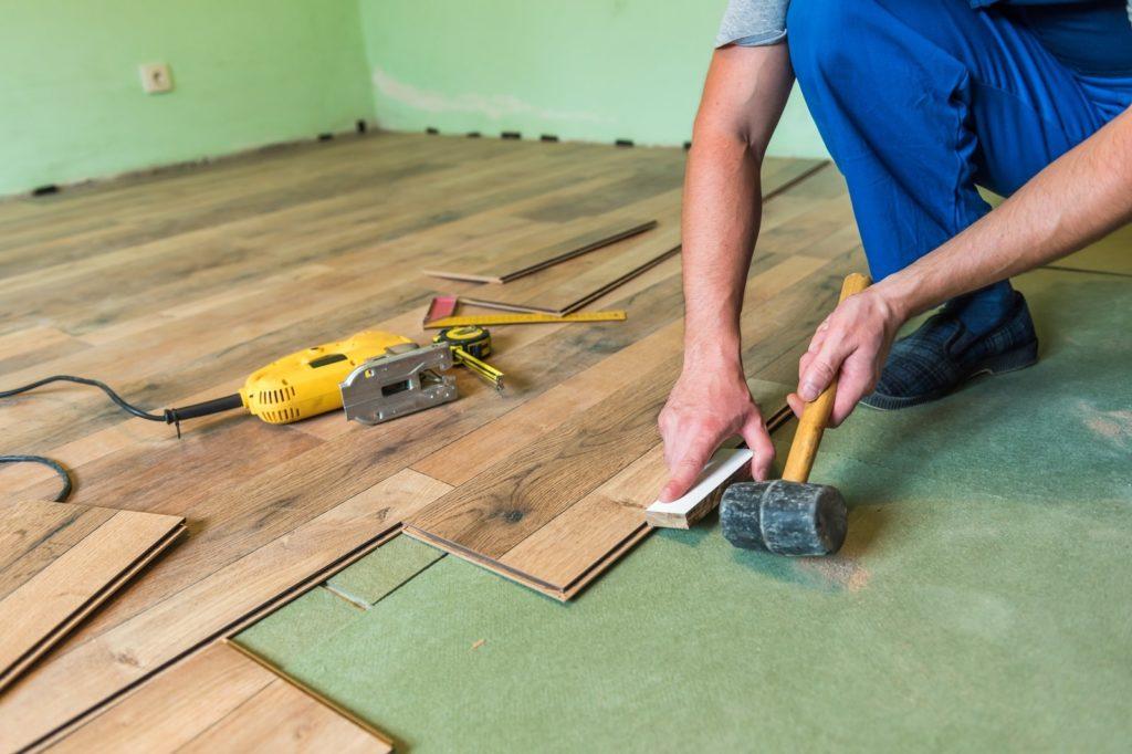 Custom Build Bathroom Floor